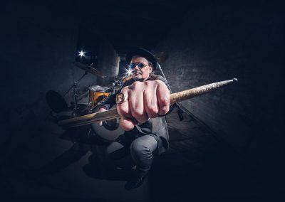 Ryde, rumpalin muotokuvaus