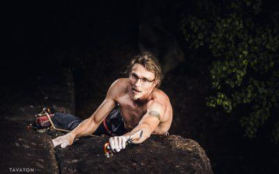 Kiipeilijä Jussi Pöyhösen valokuvaus