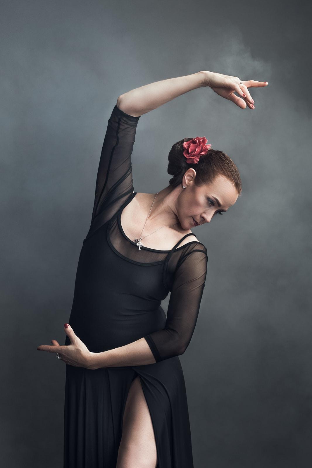 Minna Metsärinne, balettitanssija mainoskuva
